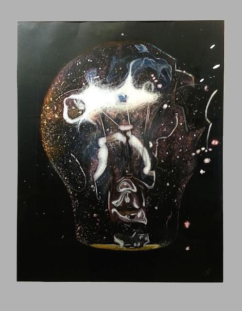 Cours de dessin Ateliers LT37 - Salomé J - explode - crayons de couleurs & pastels - tours, st pierre des corps,st cyr sur loire, chambray les tours, montlouis sur loire fondettes st branchs