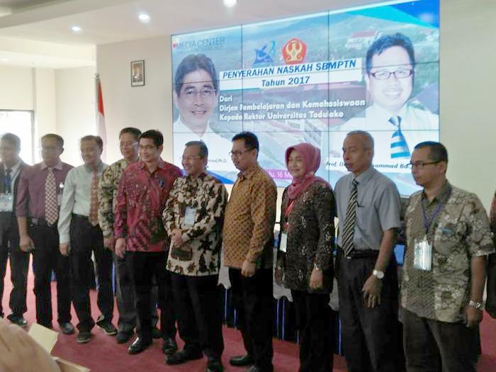 Pembukaan SBMPTN 2017 Menristekdikti di Untad Palu