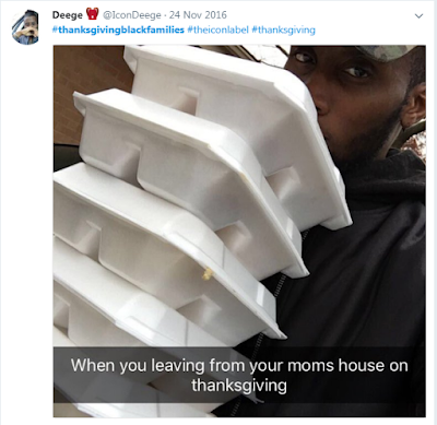 Happy Thanksgiving with Black Families Memes Twitter: #thanksgiving