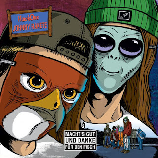 Johnny Rakete & HawkOne - Macht's Gut Und Danke Fur Den Fisch (EP) -  Album Download, Itunes Cover, Official Cover, Album CD Cover Art, Tracklist