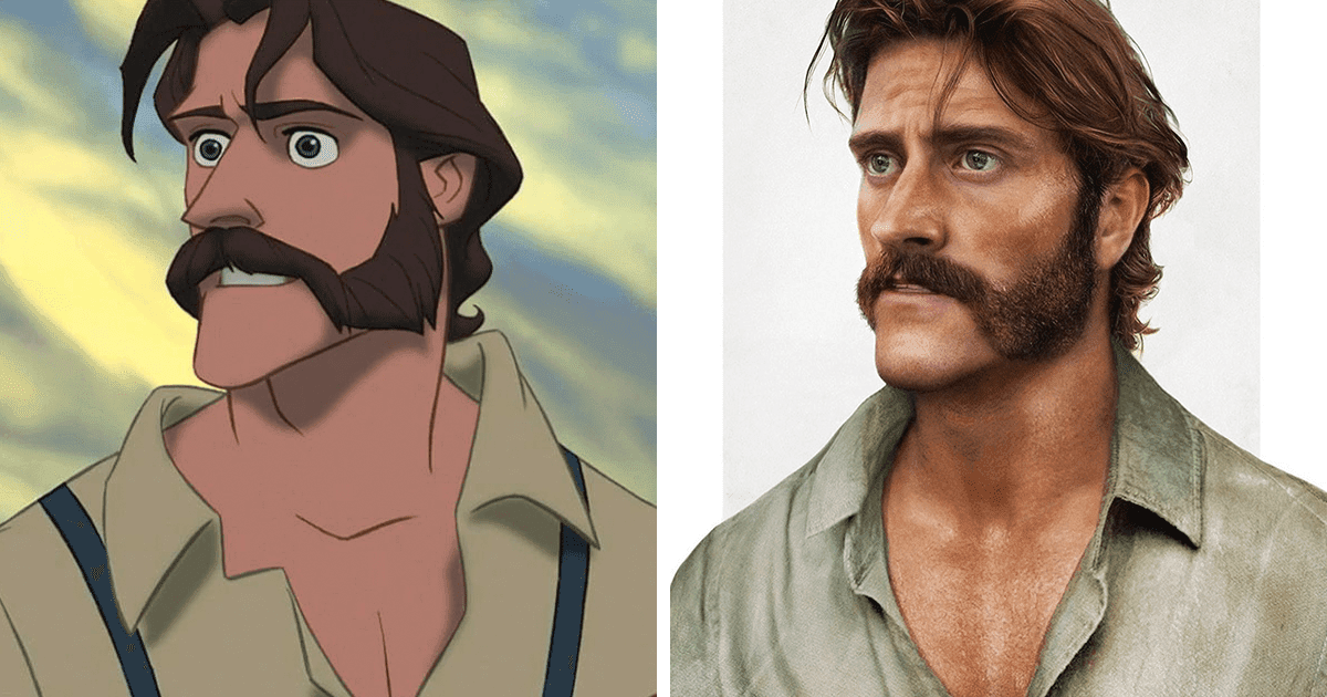 Artist Transforms Disney Dads Into Realistic People