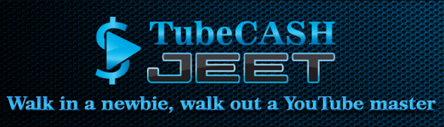 [GIVEAWAY] Tube Cash Jeet [Learn Every YouTube Ranking Trick That Exists]