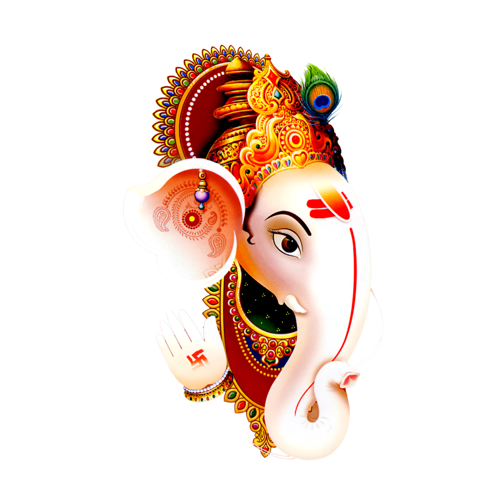 3d Ganesh Wallpapers Free Download For Pc Pngforall Ganesh Logo Png Ganesh Png Images For Wedding