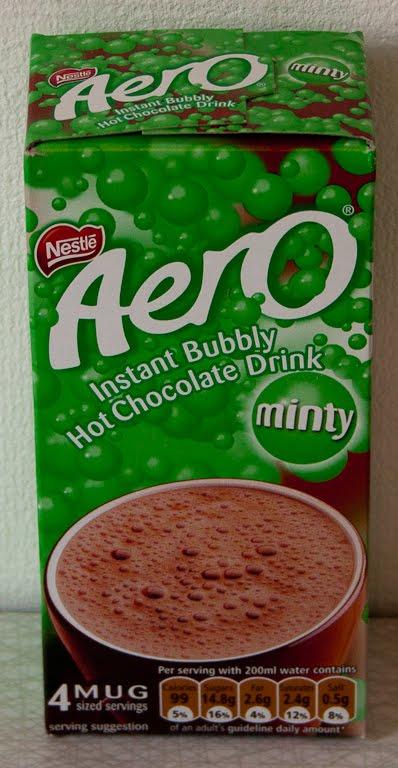 Candynstuff Aero Hot Chocolate Drink Minty