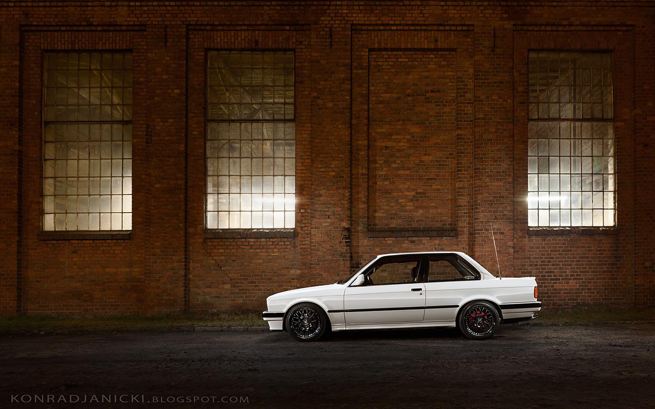 białe / white bmw e30 coupe