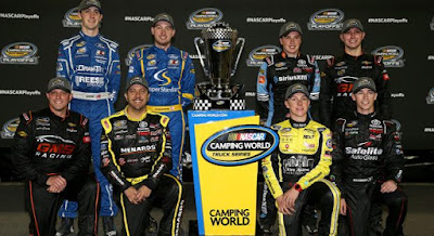 #NASCAR Camping World Truck Series Chase Field Set