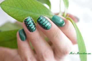 Змеиная кожа на ногтях