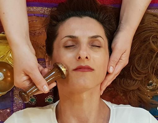 Kansa Wand Massage for Facial Rejuvenation