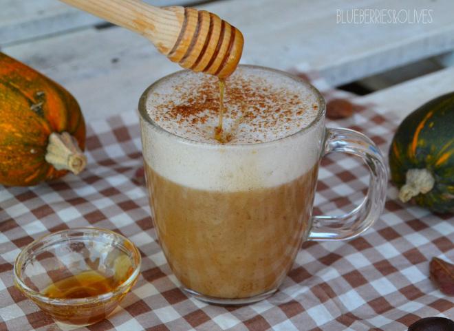 Café latte de calabaza y especias 4
