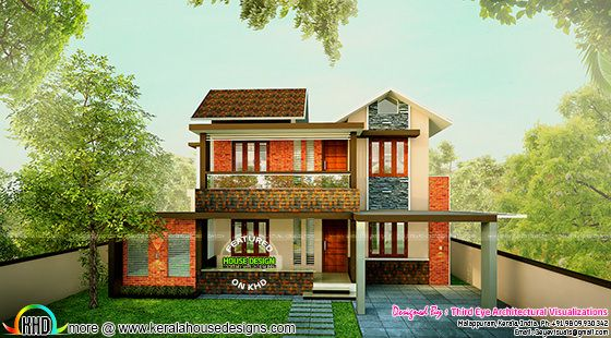 Remodeling home plan by Third eye Architectural