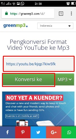 Cara Mudah Download Lagu Dari Youtube Dan Langsung Jadi MP3