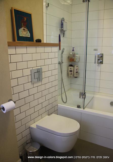 אמבטיה בלבן, אריחי בריקס