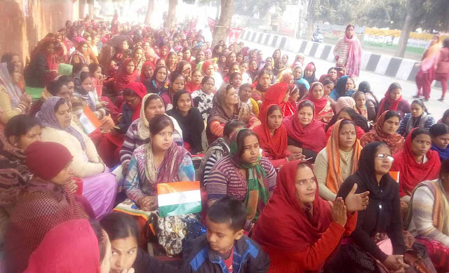 Asha Verma's rally continues on Republic Day, will be held on January 30 in jail Bharo movement