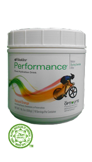 pd (performance drink Shaklee)