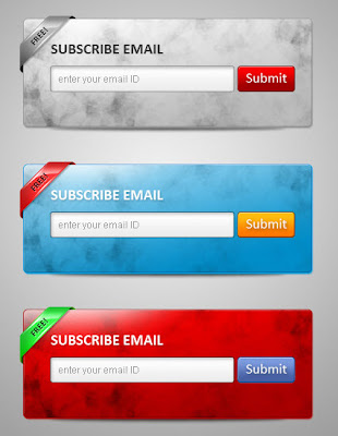 Beautiful Email Subscription Forms For Blogger Blogs