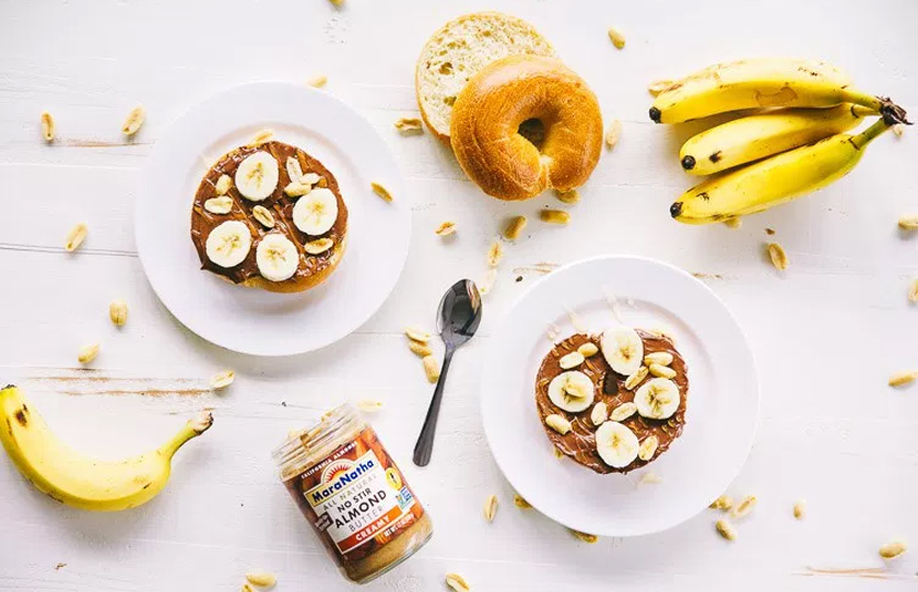 Healthy Snack Option Eat Clean Energy Pre Workout Banana & Peanut Butter