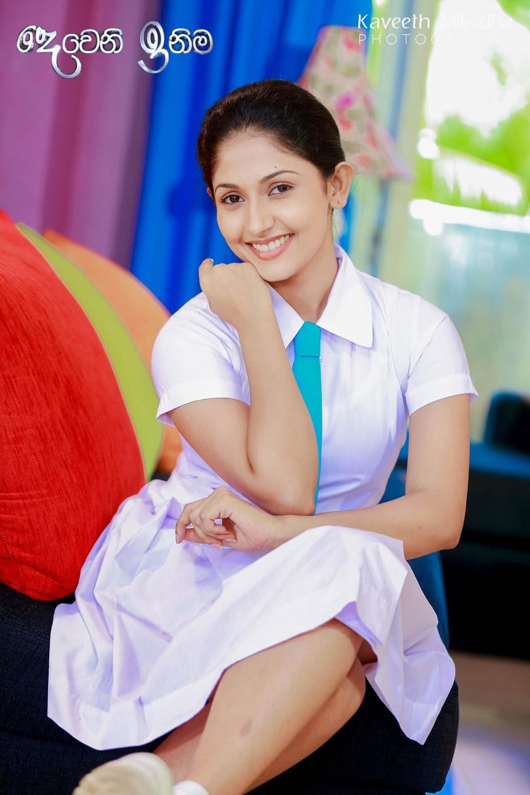 Nayanathara Wickramarachchi Is A Sri Lankan Tele Drama Actress Her Most Popular Tele Drama Is Deweni Inima Who Telecast By Tv Derana