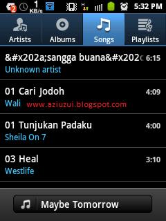 Off Musik di secara otomatis saat tidur