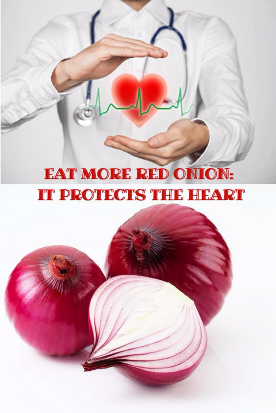 EAT MORE RED ONION: IT PROTECTS THE HEART