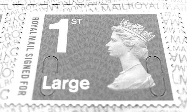Machin Defnitive Security Stamp 1st Large Signed For M20L reprint 03/02/20