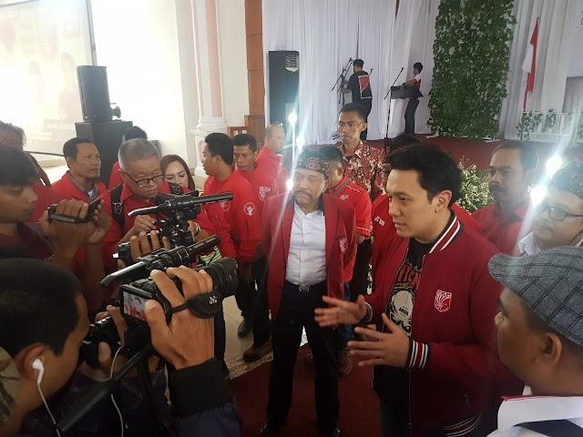 Ribuan Kader PKPI Cianjur Optimis Menangkan Jokowi-Ma'ruf Amin di Jawa Barat