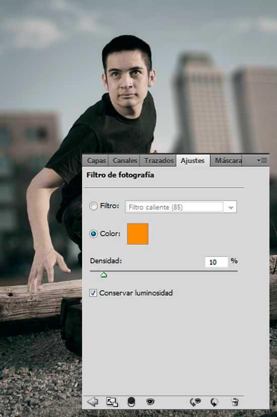 Tutorial Photoshop en Español Efecto Cine Paso 09