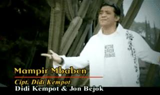 Lirik Lagu Mampir Mbaben - Didi Kempot