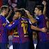 Em jogo de duas viradas, Barcelona vence Vallecano e segue na liderança