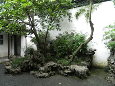 rock garden at Lingering Garden Suzhou China by garden muses-not another Toronto gardening blog