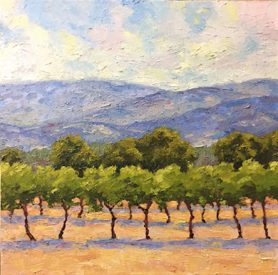 """Napa Dream"" Large Painting"