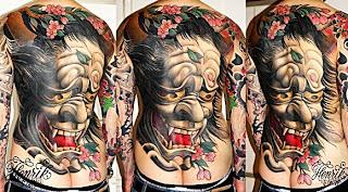 tatuaj in stil japonez