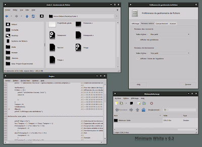 Minimum Suite Version 0.3 GTK Theme