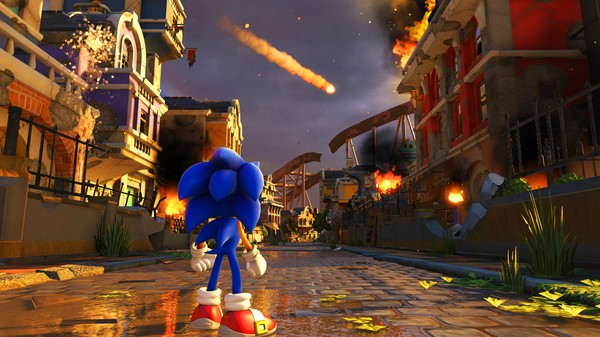 Sonic Forces PC Game Free Download Screenshot 2