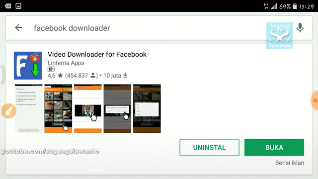 Cara Mudah Mendownload Video Dari Facebook Ke Galeri