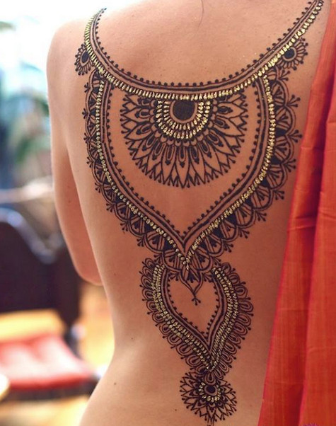 Modern Henna Designs: Henna Tattoos With Modern Designs