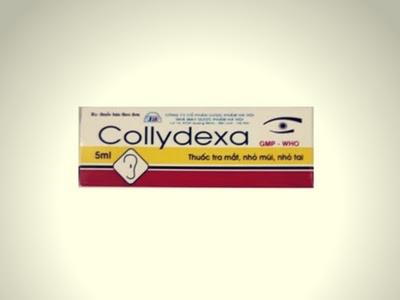 Thuốc nhỏ mắt, mũi, tai Collydexa