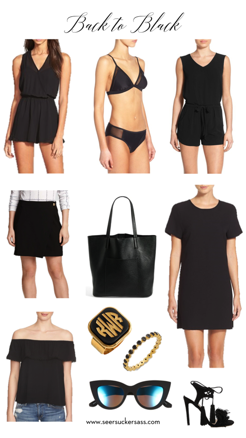 black clothing under $100