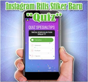 "Instagram Rilis Stiker Baru ""Quiz"", Begini Cara Menggunakannya"
