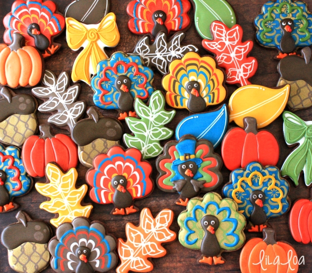 Video tutorial for Thanksgiving cookies