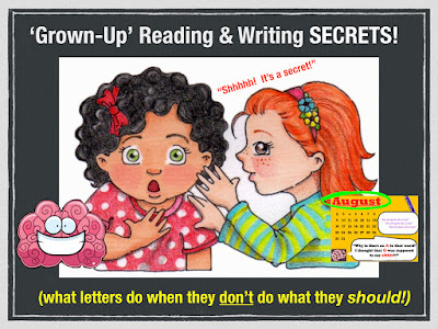 "Secret Stories® Phonics Secrets— ""What letters do when they don't do what they should!"""