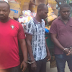 Photos: Three Suspected Movie Pirates Arrested With N50m Worth Of Pirated Movies At Alaba International Market
