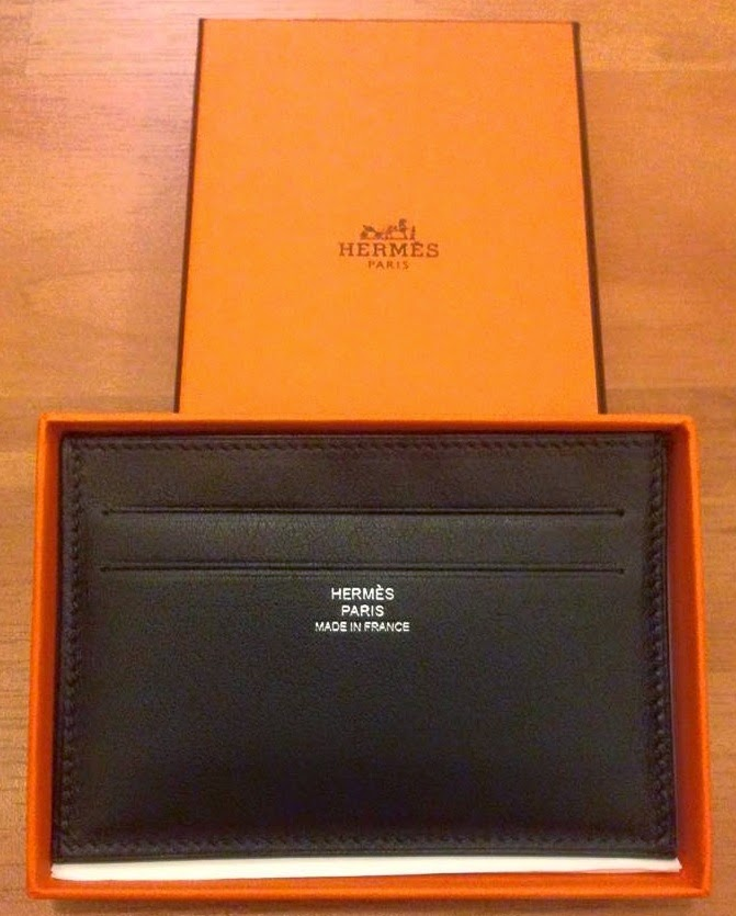 uk availability 23202 f9cff Trades: V-Day gift idea for your man! Hermes Citizen Twill card ...