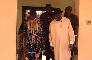 News: Obasanjo visits Jonathan in Otuoke
