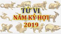 Tử vi 12 con giáp năm Kỷ Hợi 2019 cả nam mạng và nữ mạng