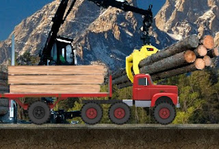 Play Free Cargo Lumber Transporter Puzzle Online Games