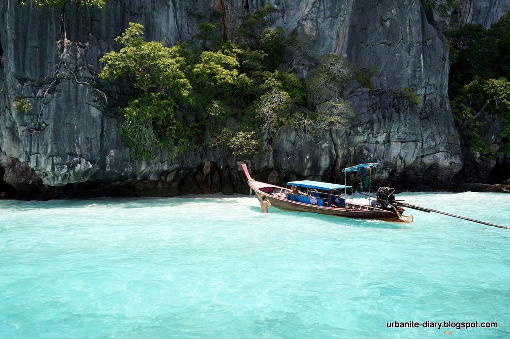 Bali beach for swimming