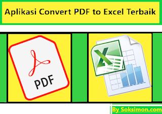 Aplikasi Convert PDF to Excel Terbaik