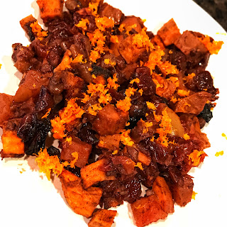 Cranberry Orange Sweet Potato Bake