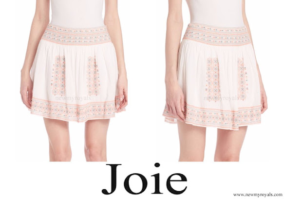 Princess Madeleine wore Joie Shandon skirt