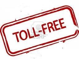 இலவச டோல் ப்ரீ எண்கள் (TOLL FREE NUMBERS)